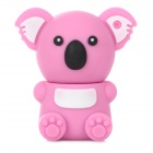 KAON-20 Cute Koala Shape USB 2.0 Flash Drive Disk - White + Pink (8GB)