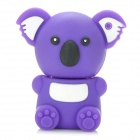 KAON-20 Cute Cartoon Koala Style USB 2.0 Flash Drive Disk - Purple (4GB)
