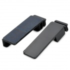 YS10258 Universal Plastic Wall Holders for Tablets - Black (2 PCS)
