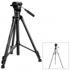 VCT-880RM Aluminum Alloy Tripod w/ Carrying Bag for Digital Camera / DV - Black