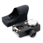 Switching Red Green Laser Dot Gunsight for 20mm Gun Rail - Black