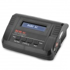 "B6 80AC 2.8"" LCD 80W Balance Battery Charger for R/C Helicopter - Black (US Plug / 110~240V)"