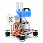 Two-axis Brushless Gimbal Camera Mount w/ Motor & Controller for Gopro Hero 1 2 3 3+ - Silver