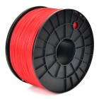 GZDY06 1.75mm 3D Printer ABS Rapid Moldering Cable - Red