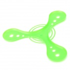 ABS Boomerang Flying Saucer Toy - Verde