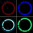 Bicycle Hot Wheel RGB LED 3-Mode Bicycle Rubber Spoke Light (2 x 2016)
