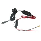 Step-down Voltage Regulator Cable w / Fusível para carro GPS / DVR - Preto
