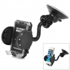 Universal Handy 360' Rotating Car Mounted Holder for Iphone / GPS / MP4 + More - Black