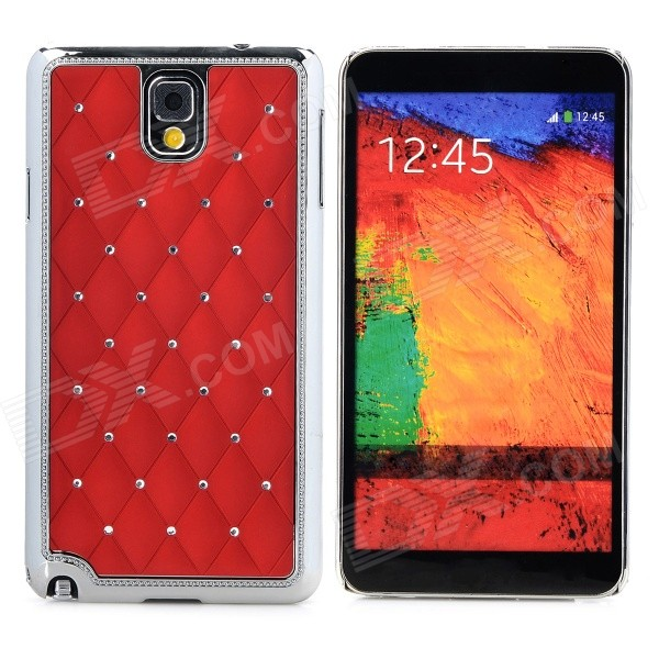 Starry Pattern Protective PC Back Case for Samsung Galaxy Note 3 - Red s style protective pc back case for samsung galaxy note 3 n9000 white