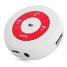 Multifuncional Bluetooth Audio Receiver Set w / HFC / TF MP3 / FM / USB Flash Drive / AUX para carro