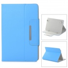 Protective Flip Open PU Leather Case w/ Stand for 10.1'' Tablet PC - Blue