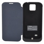 "X10 External ""3300mAh"" Power Battery Charger w/ Protective Case for Samsung Galaxy S4 i9500 - Black"