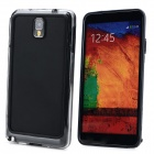 Protective Plastic Bumper Frame for Samsung Galaxy Note 3 - Black