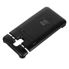 "External ""5500mAh"" Power Battery Charger w/ Back Case for Samsung Galaxy Note 3 N9000 - Black"
