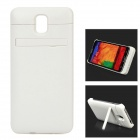 External 5500mAh Power Battery Charger Back Case for Samsung Galaxy Note 3 N9005 + More - White