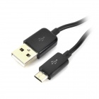 USB to Micro USB Data Charging Cable for Samsung - Black (100cm)