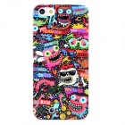 Cool Protective Plastic Back Case for Iphone 5 - Multicolor