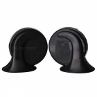 Caracol Estilo Car Auto Parts Air Horn Speaker - Black + Red (12V / 2 PCS)