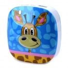 LOFTER AA080001 Giraffe Pattern 5V 6600mAh Li-ion Polymer Battery Power Bank for Iphone 4 / 5 - Blue