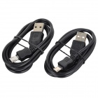 Micro USB Charging / Data Cable for LG NEXUS 5 / E980 / NEXUS 4 / E960 + More - Black (2PCS / 100cm)