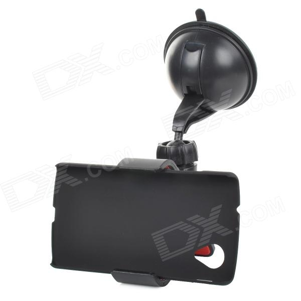 Car 360 Degree Rotation Mount Holder for LG Nexus 5 E980 - BlackMounts &amp; Holders<br>ModelsLGMaterialABSForm  ColorBlackQuantity1Mount TypeCar MountCompatible ModelsLGPacking List1 x Holder1 x Clip1 x Back case<br>