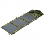 Sunwalk SUNWALK-105 Portable Folding 10.5W Monocrystalline Solar Panel - Camouflage