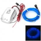 Decorative USB Powered LED Blue Light EL Wire w/ Sound Controller - Blue (12V)