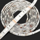 12W 400lm 120-5050 SMD LED OSRAM RGB Light Waterproof Flexible Strip Lamp w/ Remote Controller (2m)