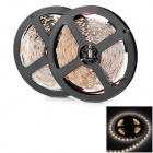 JR 60W 3000lm 600-3528 SMD LED Warm White Light Flexible Strip Lamp (12V / 10m)