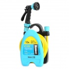 Berent BT6088 Small Reel Set w/ Water Cannon / 10m Water Pipe - Black + Blue