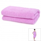LX-9005 Kid's Magic Household Clothes / Bath Towel - Purple