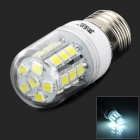 E27 3W 260LM 6500K White Light 360' Lighting SMD LED Lamp Bulb - White (220V)