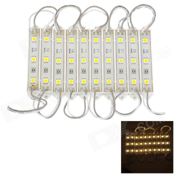 DDR9 6W 120lm 3500K Warm White 30-LED Strip Light - White (12V)