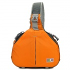 CASEMAN AOS2-32 Portable Fashion One-Shoulder Camera Bag for Canon / Nikon - Orange