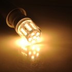 E14 3W 240lm 3300K Wide Angle Warm White 27-LED Light Bulb - White (220V)