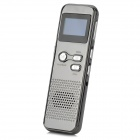"DVR-60 Rechargeable Digital 1.0"" LCD Noise-Reduction Voice Recorder w/ TF - Grey"