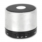 X2000 BL-02 Portable Bluetooth v3.0 Speaker w/ Microphone / TF/ Hands-Free - Silver + Black