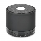 X2000 BL-02 Portable Bluetooth v3.0 Speaker w/ Microphone / TF/ Hands-Free - Black