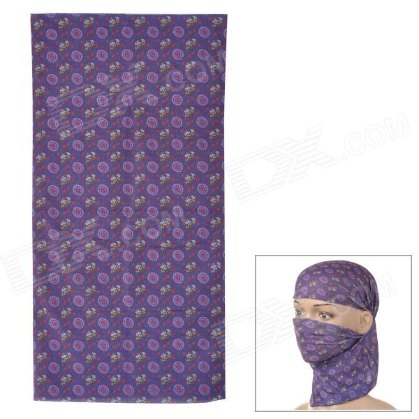 HL0098 Multifunction Outdoor Sports Seamless Head Scarf - Purple