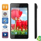"A9550 Quad-Core Android 4.2 WCDMA Bar Phone w/ 5.5"" Screen, Wi-Fi and GPS - Black"