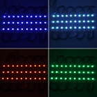DDR8 6W 120LM RGB LED Light Bar - vit (10 St) (12V)