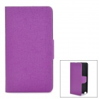 Stylish Oracle Style Protective PU Leather Case for Samsung Galaxy Note 3 - Purple