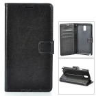 Protective PU Leather Case for Samsung Galaxy Note 3 - Black
