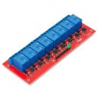 Keyes 8-Channel Relay Expansion Module w/ Optocoupler isolation - Red + Blue