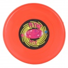 Fun Plastic Flying Disk for Kids - Red