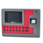 "Realand AC110 2.8"" TFT Color Screen Fingerprint Attendance Machine - Red + Grey"