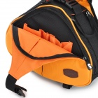 CASEMAN Portable Fashion Water Resistant One-Shoulder Camera Bag w/ Tripod Clip - Orange