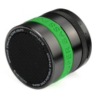 BT SPEAKER Bluetooth V2.1 + EDR Speaker - Green + Metal Grey + Black
