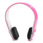 AITA AT-BT801 Bluetooth V3.0 + EDR Wireless Stereo Headband Headphone w/ Mic - Pink + White + Black