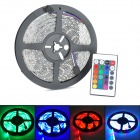 ZnDiy-BRY 18W 600lm RGB 300-SMD 3528 LED Waterproof Flexible Strip Lamp w/ Controller (5m)